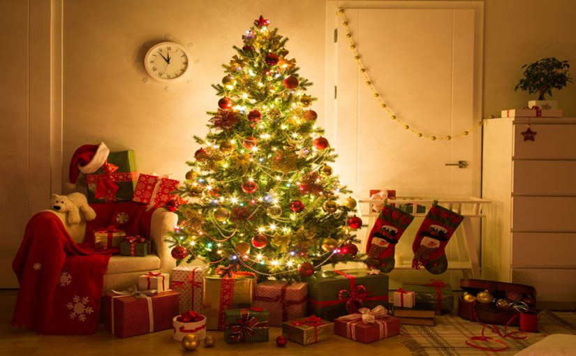Christmas tree artificial natural ecological