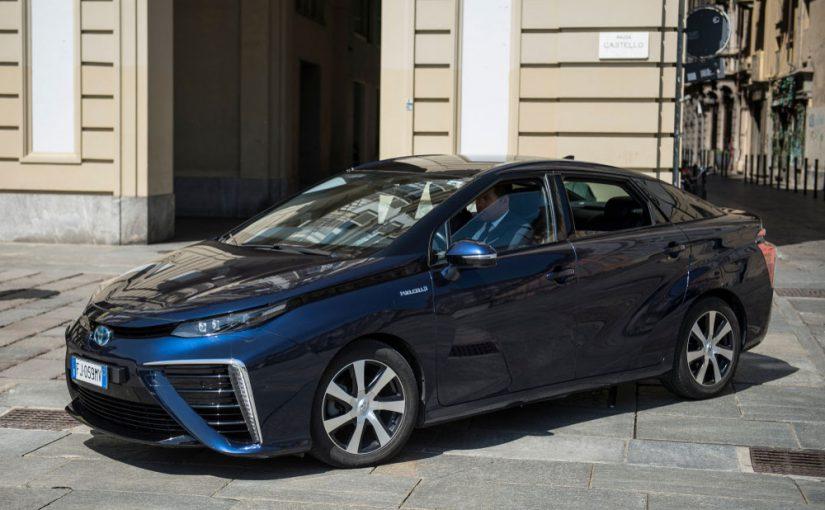 hydrogen car electric car