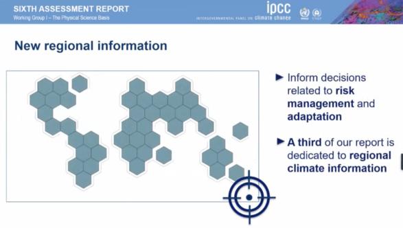 ipcc 6th report regional tool