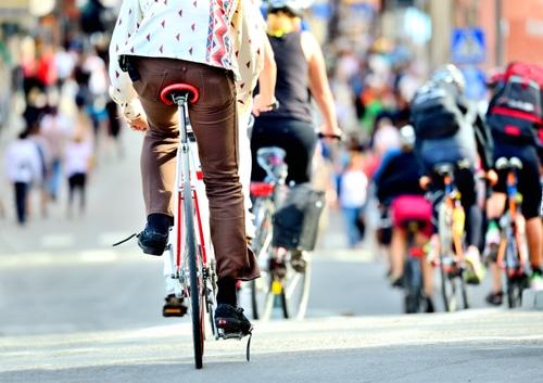 ville sans voiture vélo
