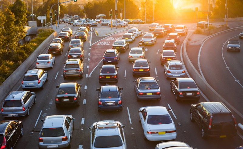 Embouteillage pollution