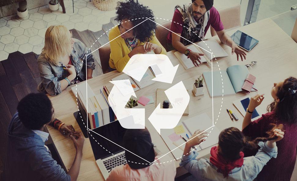 recyclage-travail-dechets-economie-circulaire