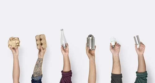 recyclables tri