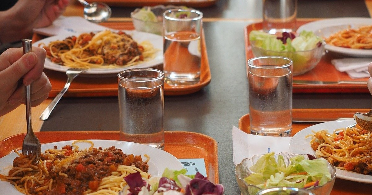 menus sans viande cantines