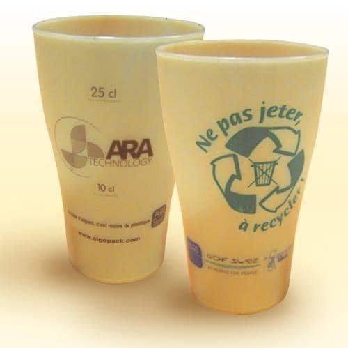 mug algues plastique