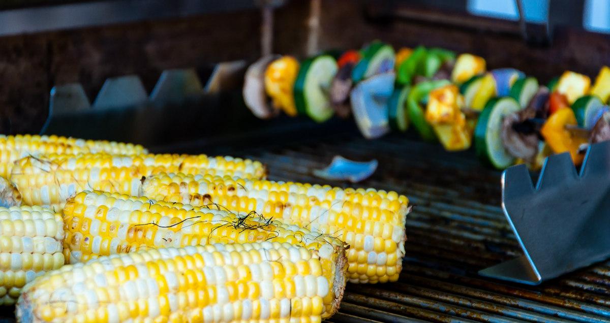 barbecue végétarien vegan légumes grillés